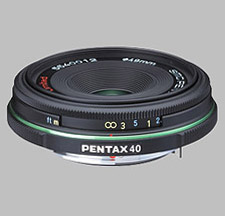 image of the Pentax 40mm f/2.8 Limited SMC P-DA lens