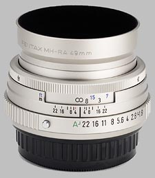 image of the Pentax 43mm f/1.9 Limited SMC P-FA lens