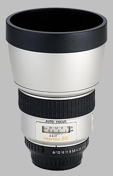 image of the Pentax 85mm f/1.4 IF SMC P-FA lens