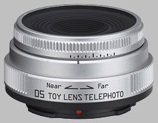 image of the Pentax Q 18mm f/8 06 Toy Telephoto lens