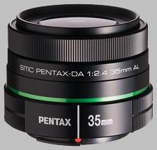 image of the Pentax 35mm f/2.4 AL SMC DA lens