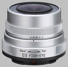 image of the Pentax Q 3.2mm f/5.6 03 Fish-Eye lens