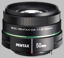 image of the Pentax 50mm f/1.8 SMC DA lens