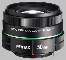 image of Pentax 50mm f/1.8 SMC DA