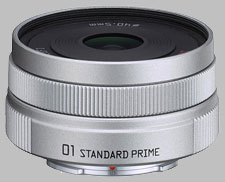 image of Pentax Q 8.5mm f/1.9 01 Standard Prime