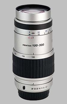 image of the Pentax 100-300mm f/4.7-5.8 SMC P-FA lens