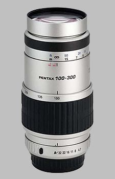 image of the Pentax 100-300mm f/4.7-5.8 SMC P-FA lens