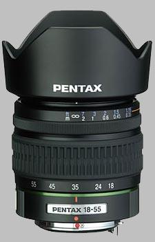 image of the Pentax 18-55mm f/3.5-5.6 SMC P-DA lens