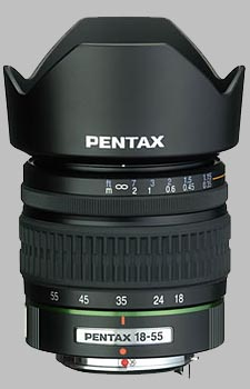image of the Pentax 18-55mm f/3.5-5.6 SMC P-DA lens