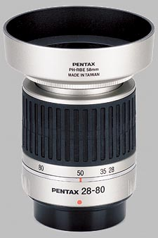 image of the Pentax 28-80mm f/3.5-5.6 AL SMC P-FA J lens