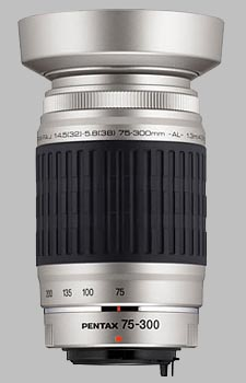 image of the Pentax 75-300mm f/4.5-5.8 AL SMC P-FA J lens
