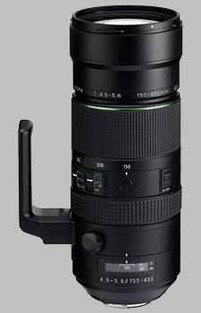 image of the Pentax 150-450mm f/4.5-5.6 ED DC AW HD D FA lens