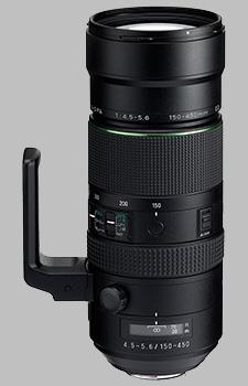 image of the Pentax 150-450mm f/4.5-5.6 ED DC AW HD D FA lens