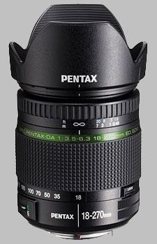 image of the Pentax 18-270mm f/3.5-6.3 ED SDM SMC DA lens