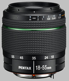 image of the Pentax 18-55mm f/3.5-5.6 AL SMC DA WR lens