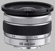 image of the Pentax Q 3.8-5.9mm f/3.7-4 08 Wide Zoom lens