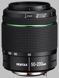 image of the Pentax 50-200mm f/4-5.6 ED SMC DA WR lens