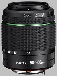 image of the Pentax 50-200mm f/4-5.6 ED SMC DA WR lens