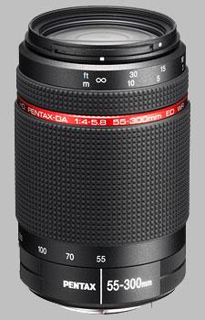 image of Pentax 55-300mm f/4-5.8 ED WR HD DA