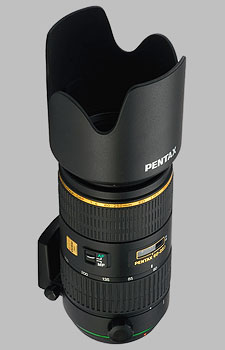 image of the Pentax 60-250mm f/4 ED IF SDM SMC DA* lens