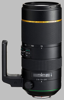image of the Pentax 70-200mm f/2.8 ED DC AW HD D FA* lens