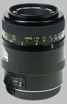 image of the Vivitar 100mm f/3.5 AF Macro lens