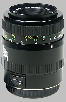 image of the Vivitar 100mm f/3.5 AF Macro lens