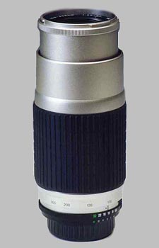 image of the Vivitar 100-300mm f/5.6-6.7 Series 1 AF lens
