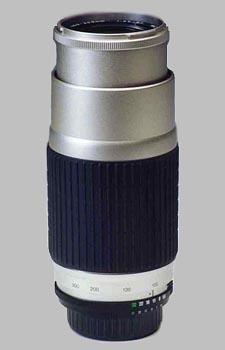 image of the Vivitar 100-300mm f/5.6-6.7 Series 1 AF lens