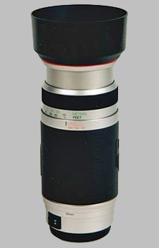 image of the Vivitar 100-400mm f/4.5-6.7 Series 1 AF lens