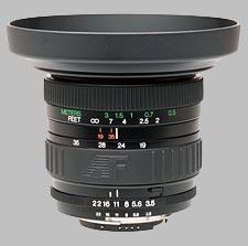image of the Vivitar 19-35mm f/3.5-4.5 Series 1 AF lens