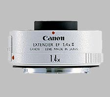 image of the Canon 1.4X Extender EF II lens