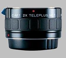 image of the Kenko 2X Teleplus MC7 DG AF lens