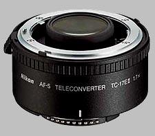 image of the Nikon 1.7X AF-S TC-17E II lens