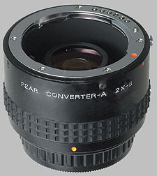 image of the Pentax 2X-S lens