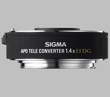 image of the Sigma 1.4X EX DG APO lens