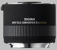 image of the Sigma 2X EX DG APO lens