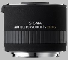 image of the Sigma 2X EX DG APO lens