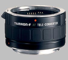 image of the Tamron 2X F AF lens