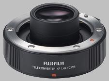 image of the Fujinon XF 1.4X TC WR lens