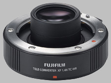image of the Fujinon XF 1.4X TC WR lens