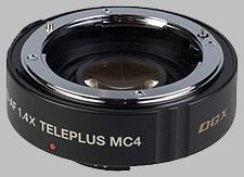 image of the Kenko 1.4X Teleplus MC4 DGX AF lens