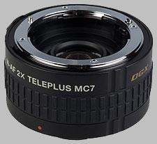 image of the Kenko 2X Teleplus MC7 DGX AF lens