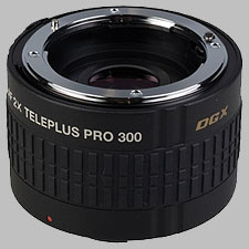 image of the Kenko 2X Teleplus PRO 300 DGX AF lens