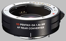 image of the Pentax 1.4X AF AW HD DA lens