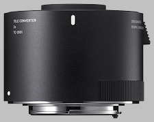 image of the Sigma 2X TC-2001 lens