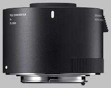 image of the Sigma 2X TC-2001 lens