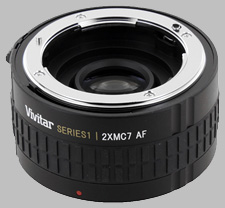 image of the Vivitar 2X Series 1 MC7 AF lens