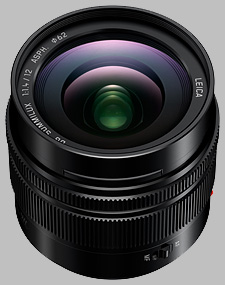 image of the Panasonic 12mm f/1.4 ASPH Leica DG SUMMILUX lens
