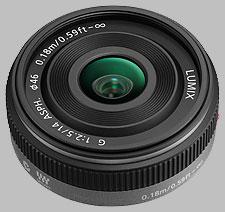 image of the Panasonic 14mm f/2.5 ASPH LUMIX G lens